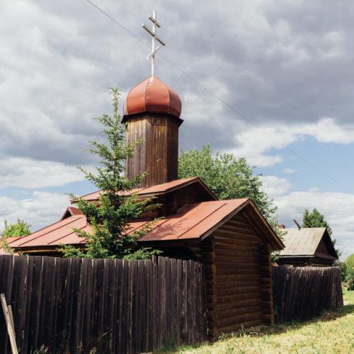 таволги церковь деревянная